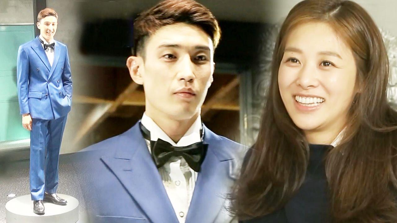 장신영, 예비남편 강경준 수트핏에 번지는 미소