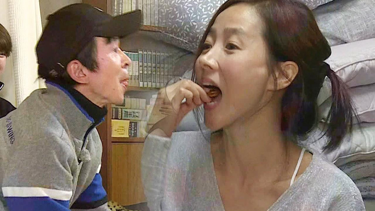 김국진, 강수지 과자 받아먹는 리얼 치와와 주인과 강아지