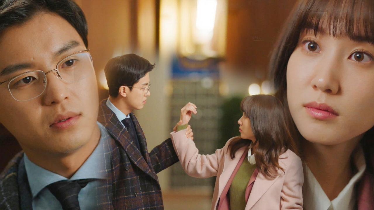 연우진, 혼잣말 고백하는 박은빈에 '심쿵 스킨십'