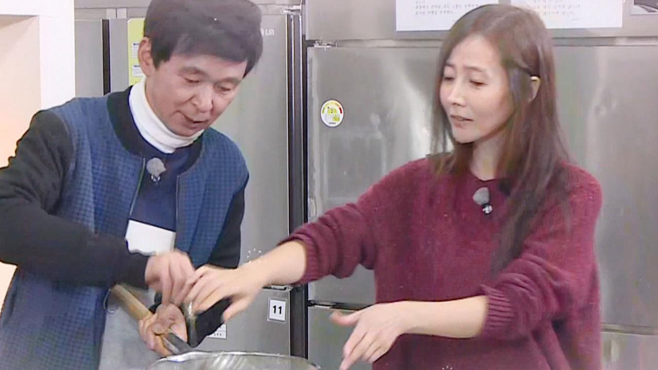 김국진·강수지, 꿀 떨어지는 치와와커플 '알콩달콩'