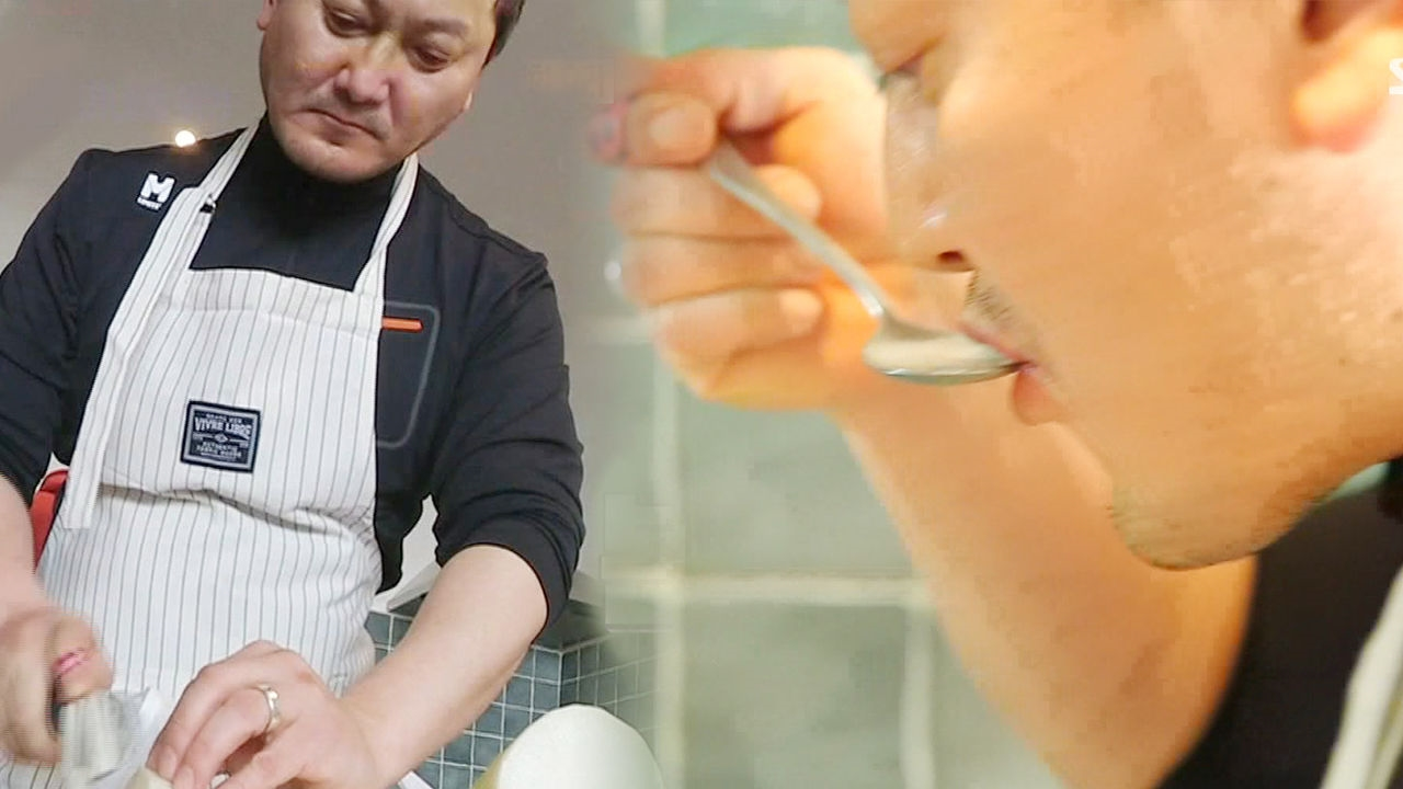 정만식, 섬세하고 정갈한 반전 요리 실력 '상남자 셰프'