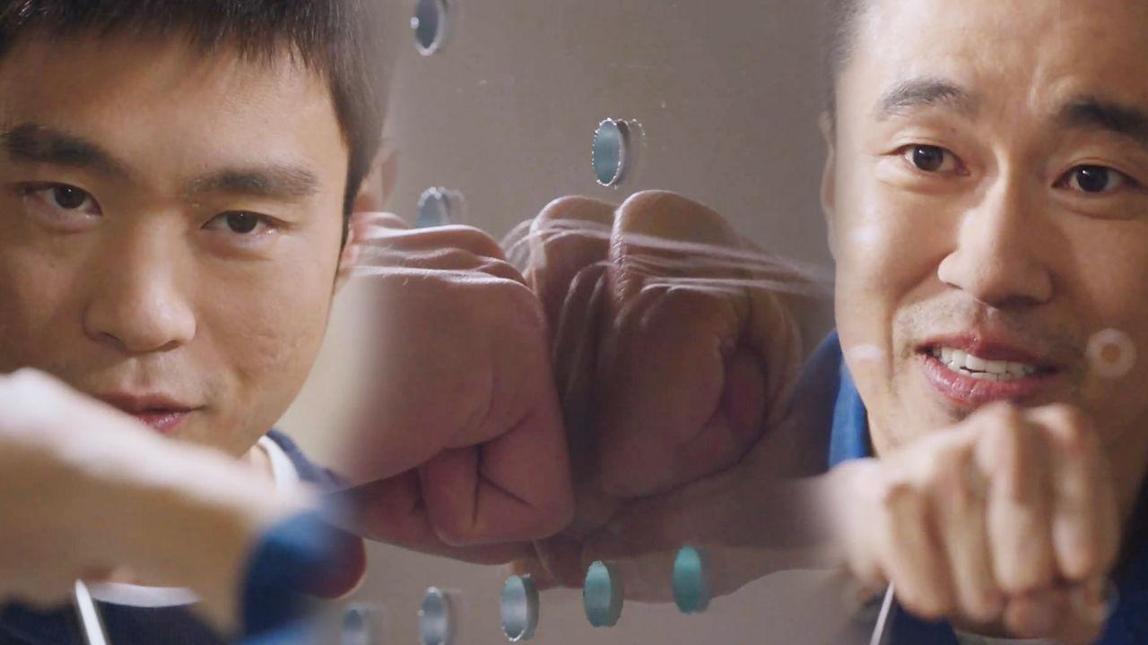 조달환·김동영, 유리 벽 사이로 느껴지는 끈끈한 형제애