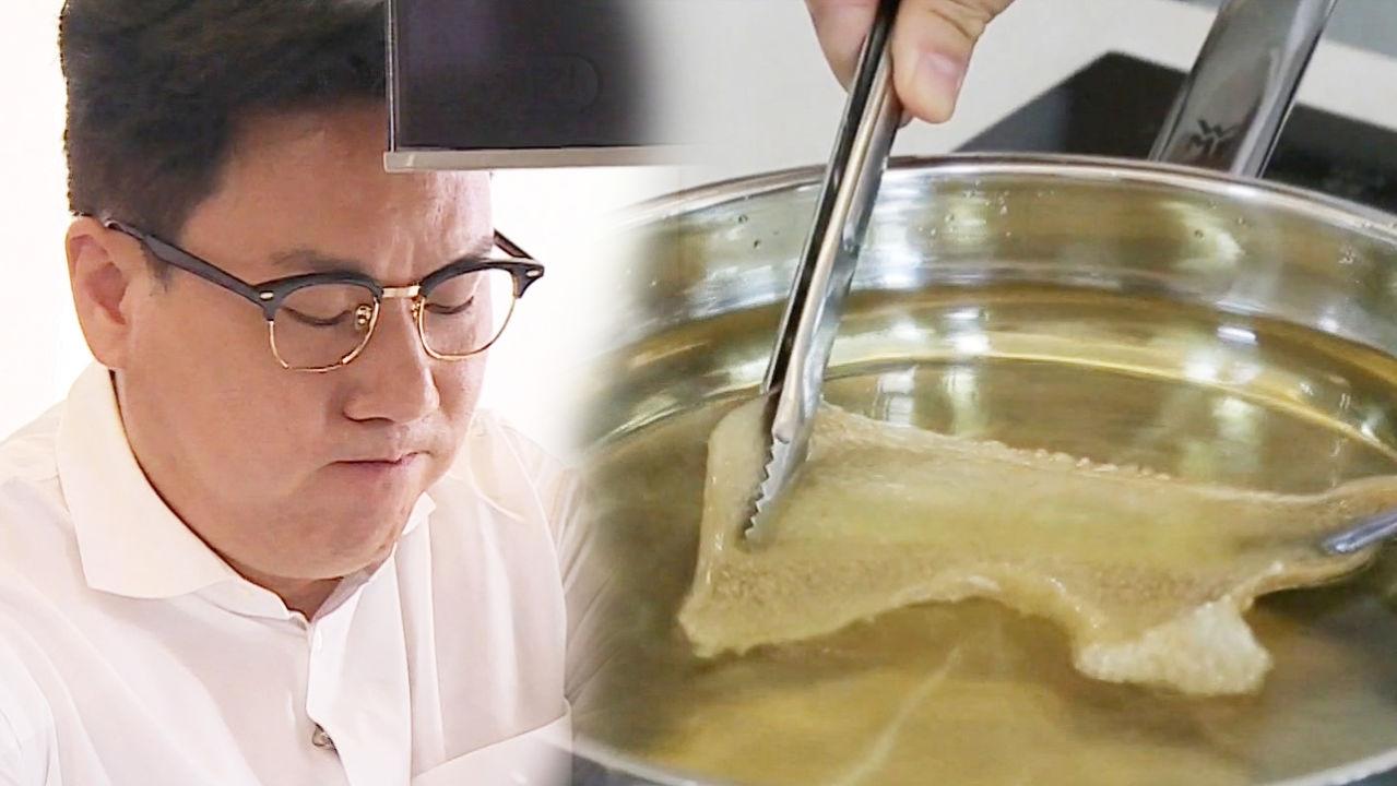 대박 예감! 이상민이 꽂혀있는 '돼지껍질 튀김 치차론'