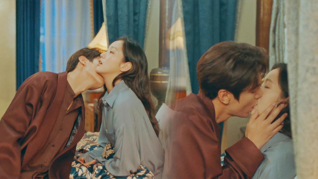 [참수 키스] 이민호김고은, 침대 위 달달 스킨십