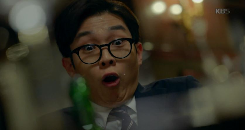 김지원의 화려한  스킬에 최우식 토끼눈