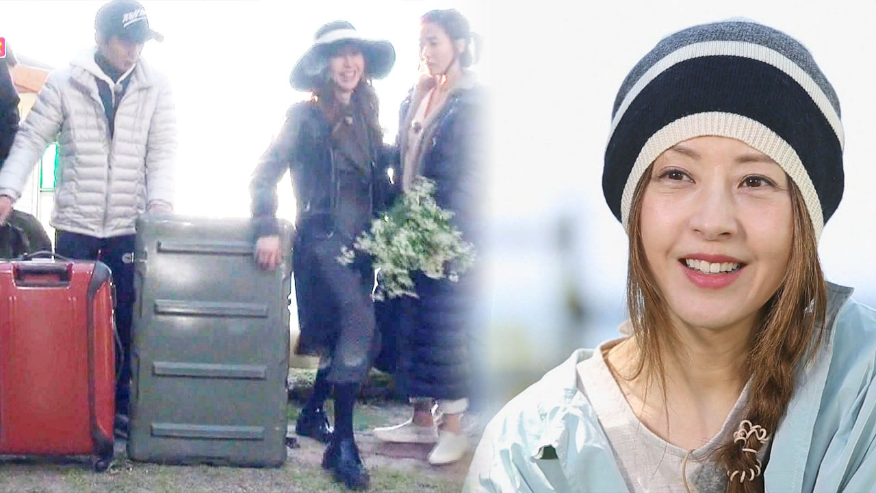 서정희, 역대급 규모 여행가방 공개 살림살이 총집합