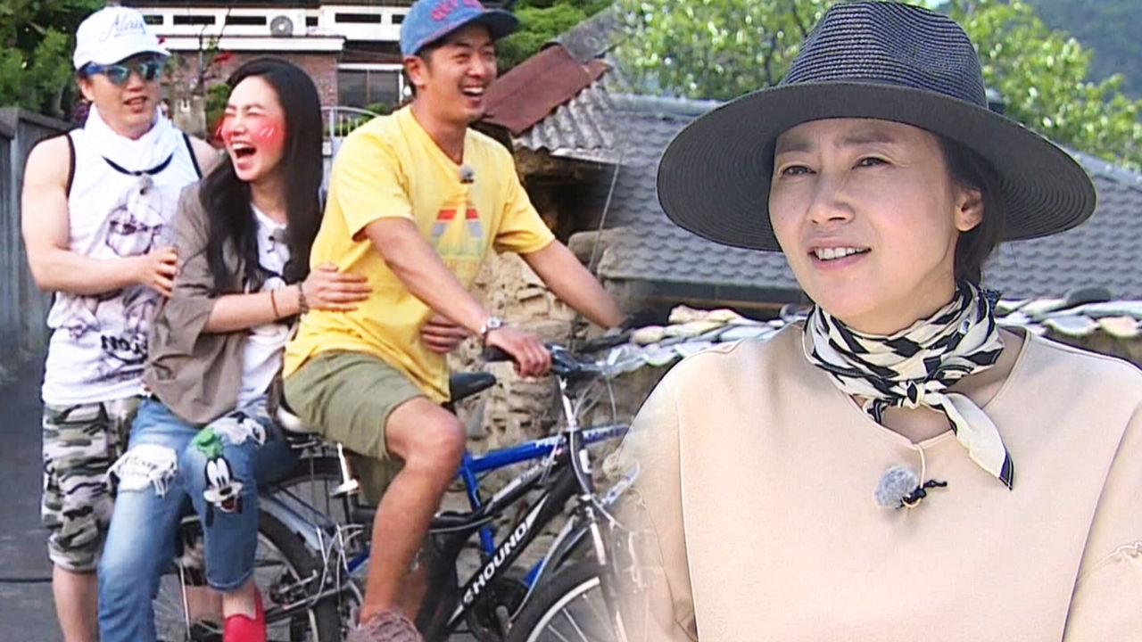 김선경, 김부용과 커플 자전거 타며 설렘 폭발