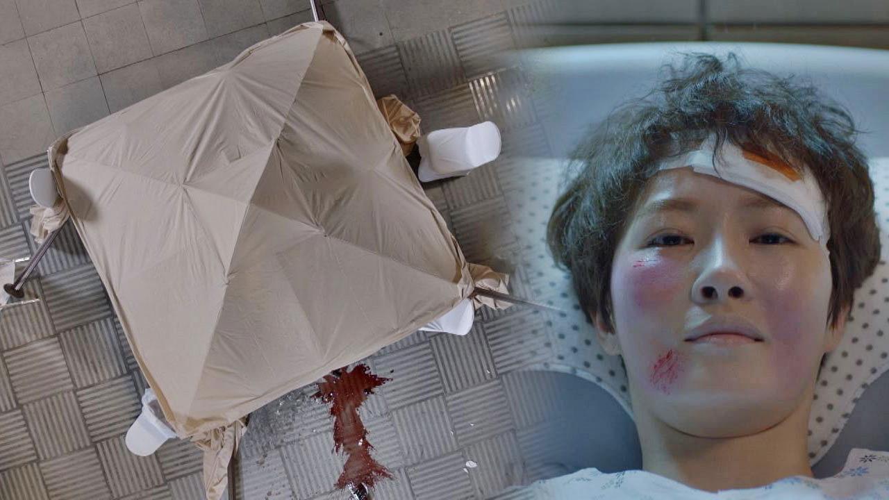 무너진 천막(!) 김선아, 온몸을 던져 지킨 야망