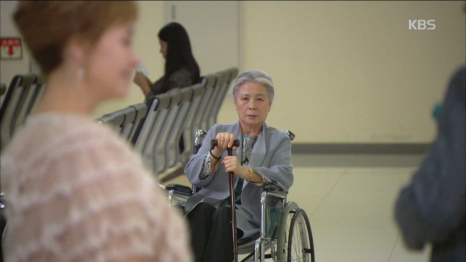 서우림, 병원에서 집 떠난 박해미 봤다.