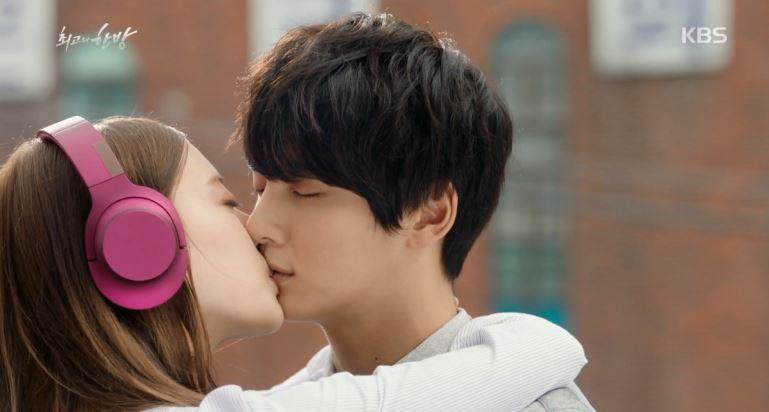 윤시윤이세영 애틋한 재회 키스
