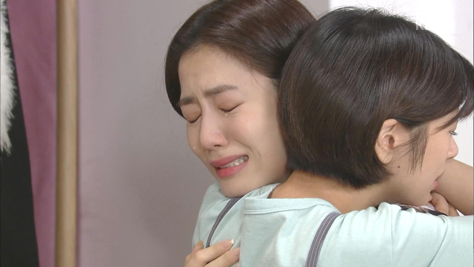 류화영, 김영철의 반찬 준비에 내일 재판이라고 이러는거지? 눈물