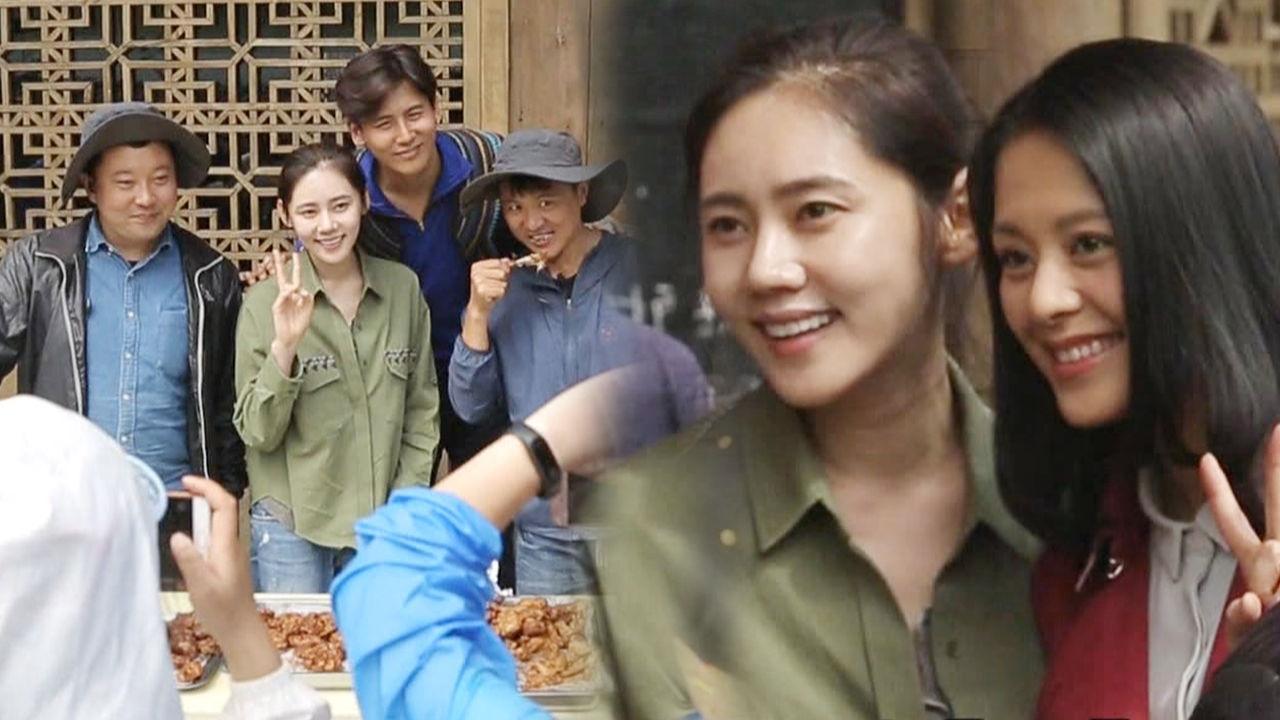 [단독] 추자현, 촬영장에 뜬 대륙의 별 연예인의 연예인