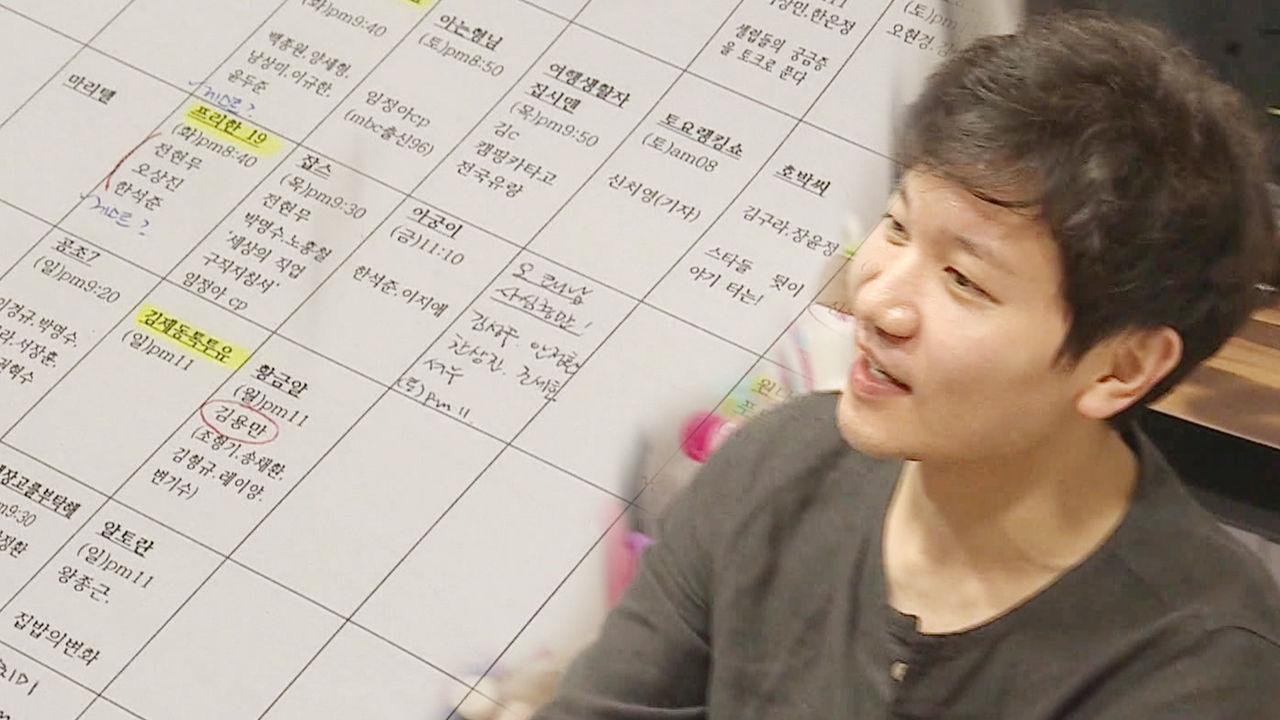 [단독] 김정근, 완벽주의자가 만든 예능 엑스파일 취준생의 집념