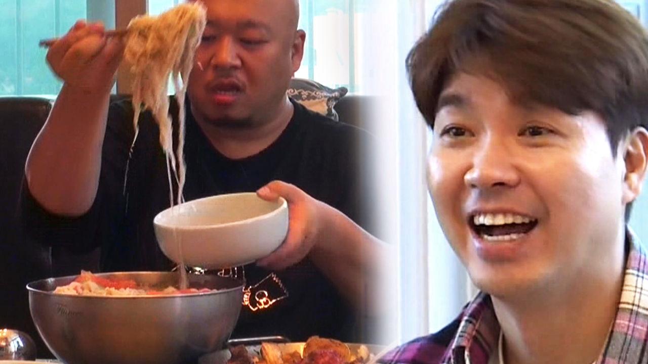 박수홍, 돈 스파이크 스타일 세숫대야 냉면에 기막힌 감탄