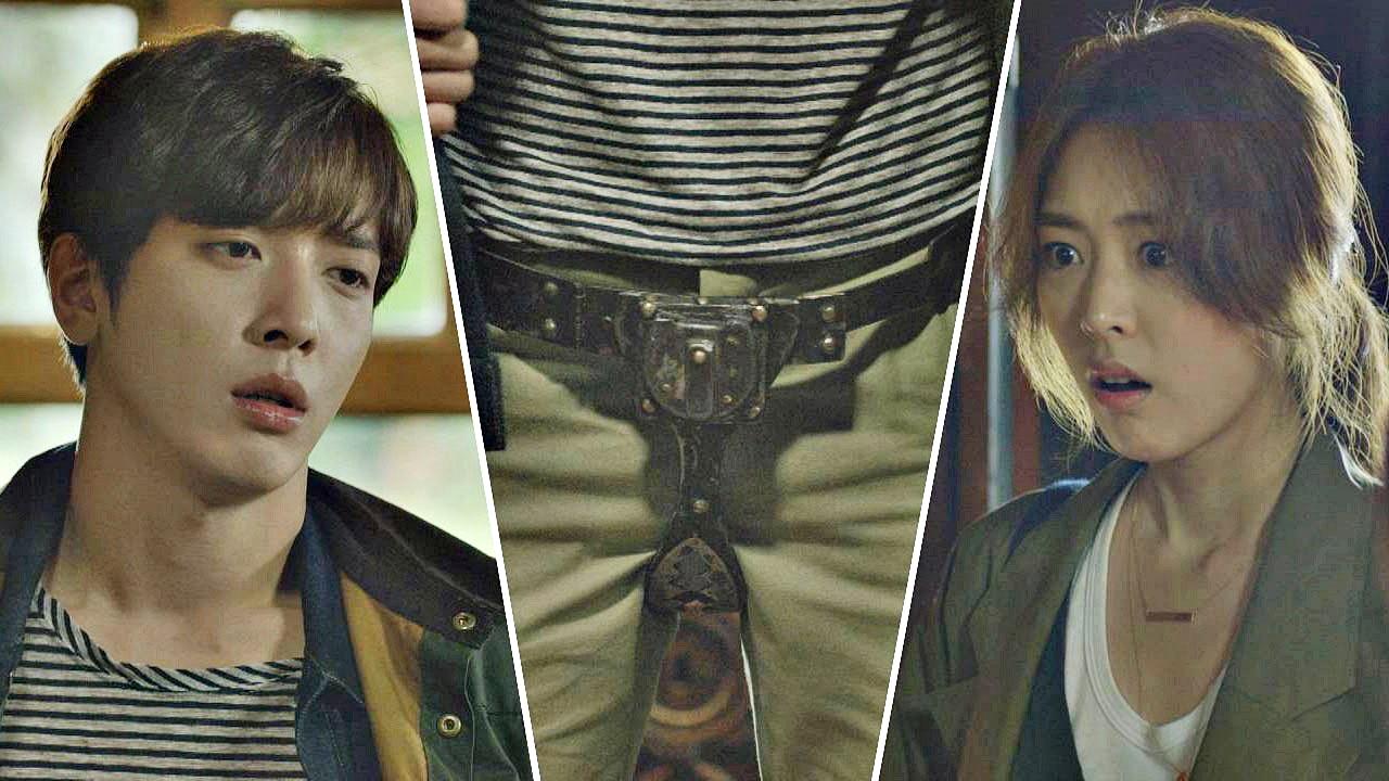 한국인 최초, 정조대 착용한 정용화! 동네방네 소문
