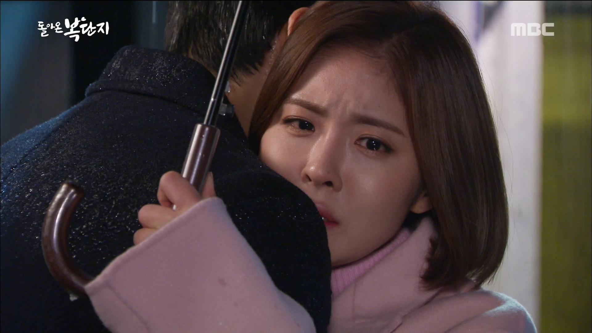 김경남 - 진예솔, 눈물의 포옹!