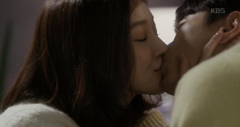 정려원X윤현민, 이게 끝(?)인 (먹튀) 키스