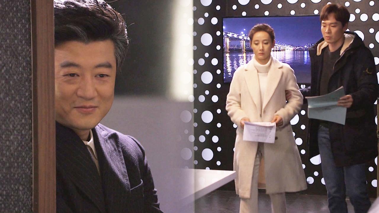 박상민, 열정 가득한 도지원 연기 연습에 번지는 미소