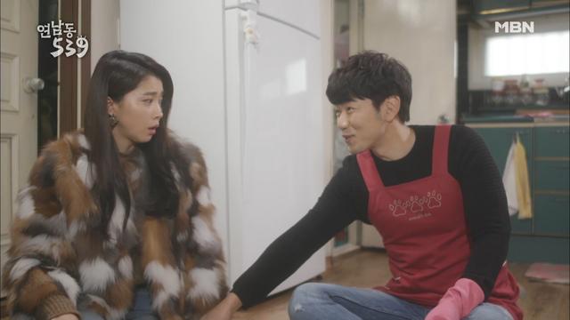 """이종혁, 오윤아를 향해 하트 발사! """"칭찬합니다 궁디 팡팡!"""""""