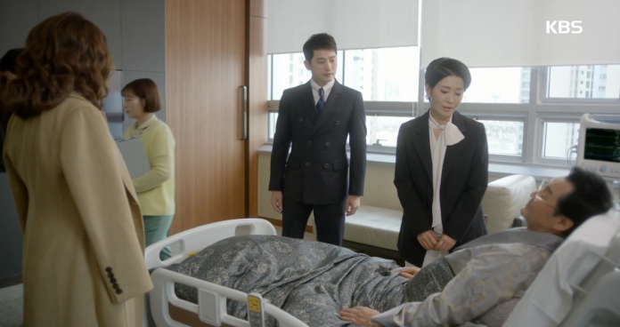 깨어난 김병기, 회사 복귀한 박시후에 미소