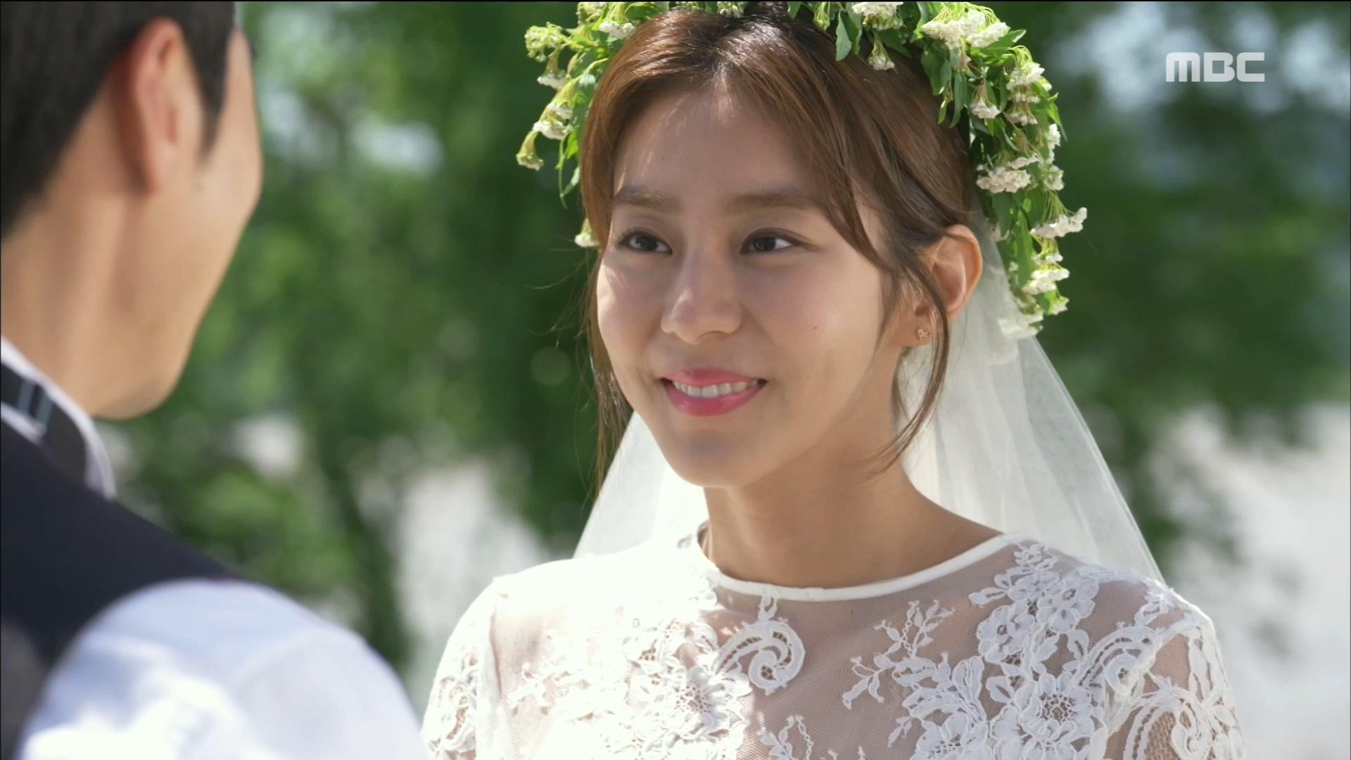 김강우, 웨딩드레스 입은 아름다운 유이에게 '너무 예뻐..'