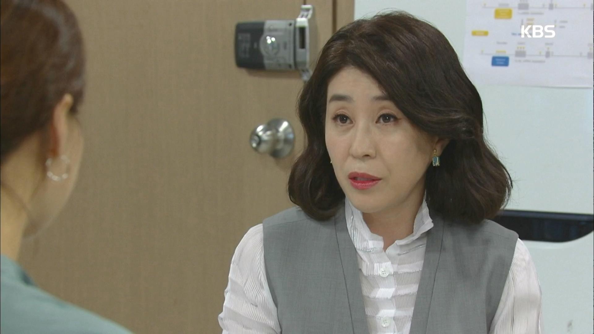 이상우 누님 김미경 카리스마에 기죽은 한지혜(카리스마 ㄷㄷ..)