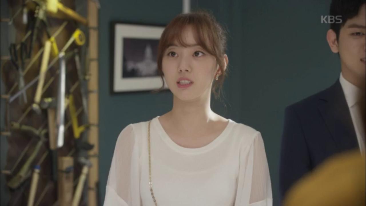 얼떨결에 유동근에게 인사해버린 박세완!