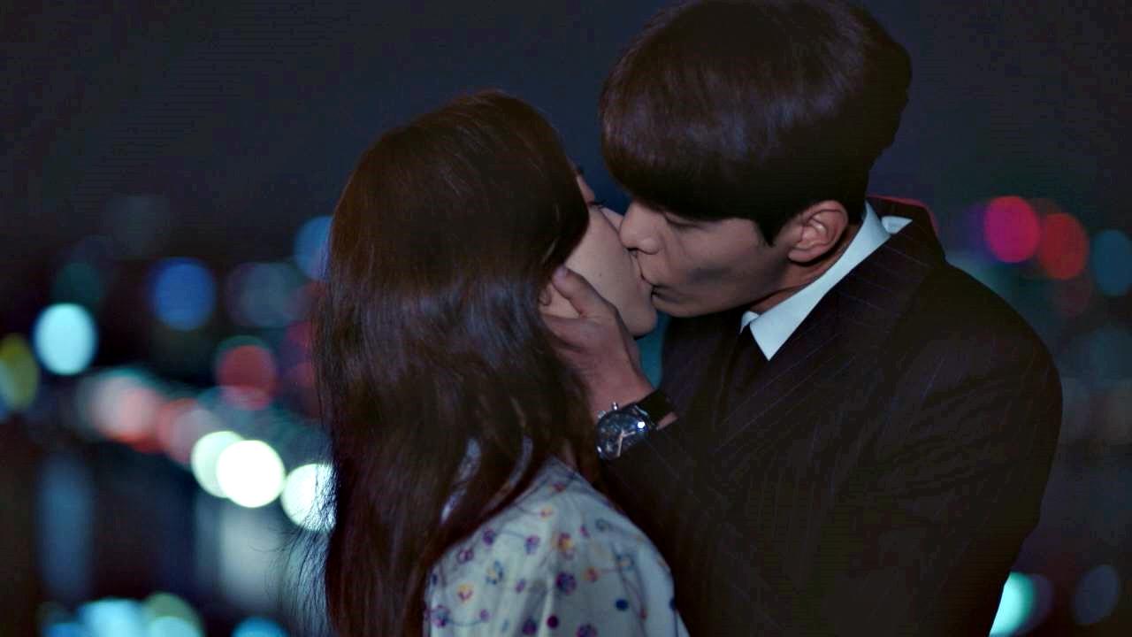 서로의 진심을 확인한 서현진♥이민기의 '옥상 키스'