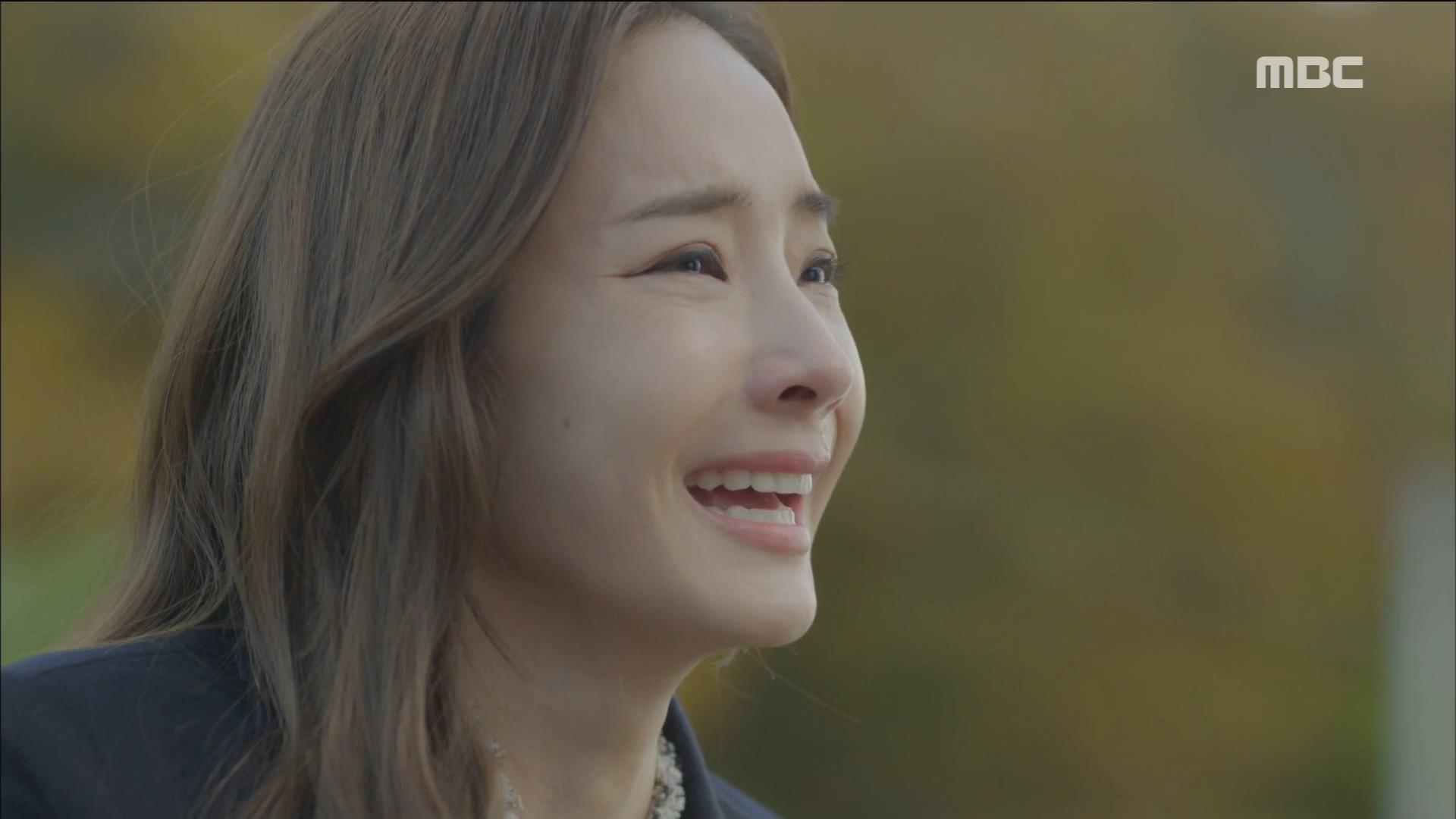 이휘향의 말에 한채영, '왜 말해주지 않았어!' 눈물